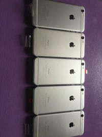 four silver iPhone 6's Woodbury, 10917