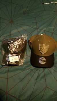 two Raider hats 2290 mi