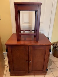 Cabinet Desk with Matching Stool New Ipswich, 03071