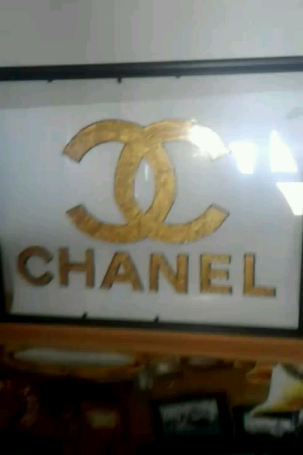 Chanel stained glass art  0