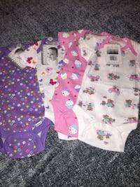 baby's three assorted onesies Palm Springs, 92262