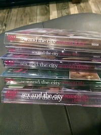 Sex and the city season 4, 5 and  6 part 1 and 2. one DVD is missing Hamilton, L8P