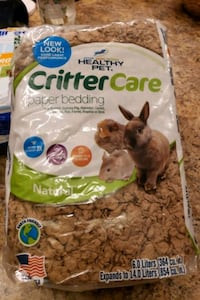 Critter care paper bedding