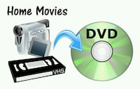 Convert old home movies from VHS or 8 mm to DVD Calgary