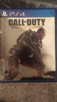 PS3 Call of Duty Advanced Warfare case Marietta, 30060