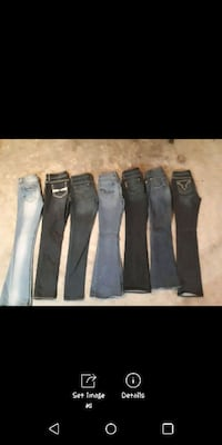 Assorted name brand women's jeans Lethbridge, T1H