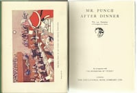vintage 1930s Mr. Punch AFTER DINNER  - from the New Punch Library, vo Newmarket