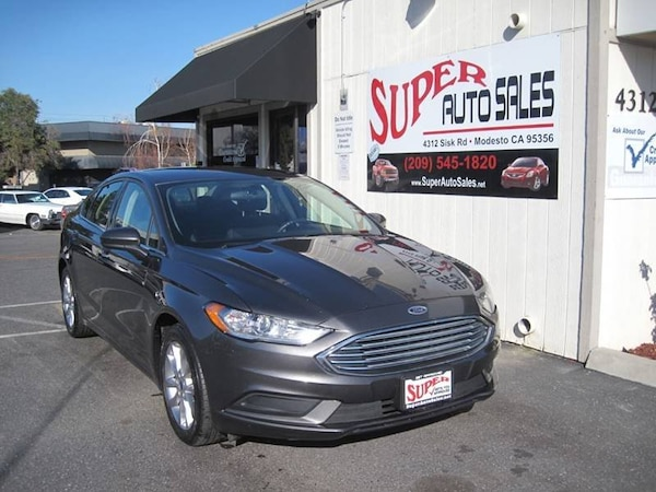 Ford Dealership Modesto >> Ford Fusion 2017