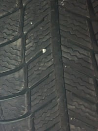 Michelin winter tires 215/45/17 like new Beaconsfield, H9W 1V9