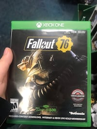 Brand new fallout 76 Xbox one  Virginia Beach, 23452