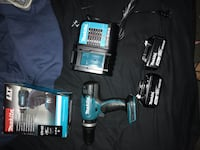 black and blue Makita cordless drill St Catharines, L2R