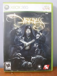 The Darkness Xbox 360 case