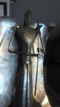 Angel of Peace handmade metal Artesian statue