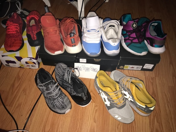 buy popular 20b1c a7774 Used Ultra boost,jordan ,ASICS, hurashes nmds for sale in ...