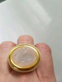 Alex Fraga Druzy ring authentic