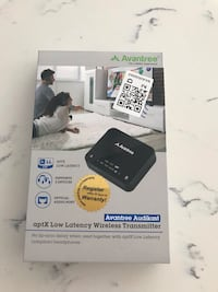Avantree Audikast aptX Low Latency Wireless Transmitter Mississauga, L5E