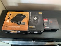 Auto car starter kit all 3 pieces, brand new in the box , bought it and never installed it .