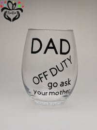 "New cup""dad of duty go ask your mother "" Hamilton, L9C 7H8"