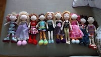 Collection Groovy Girl dolls $7each Toronto, M9A 4M6