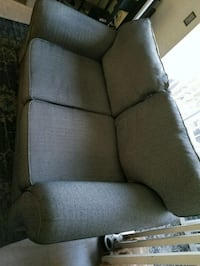 gray fabric padded sofa chair Escondido, 92025