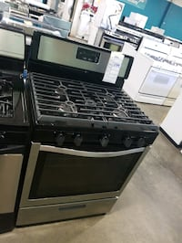 Whirlpool 5burners natural gas Stove 30inches