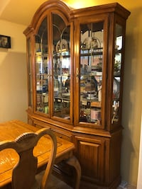 Dining Room Table And Hutch Set Mc Lean, 22102