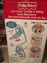 Baby Swing very good condition  Vancouver, V5Z 4P3