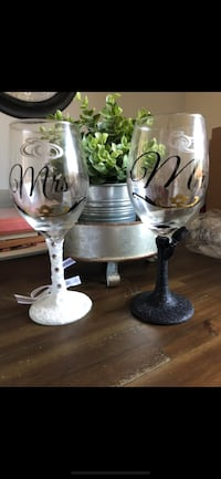 Mr and Mrs Wine Glasses Norristown, 19401