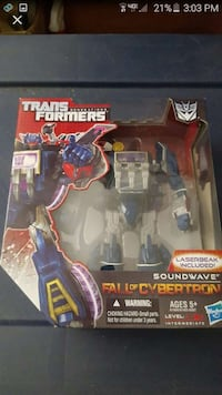 transformers soundwave fall of cybertron  action figure Glendale, 91206
