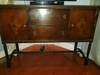 brown wooden framed glass top coffee table Simcoe County, L0G 1W0