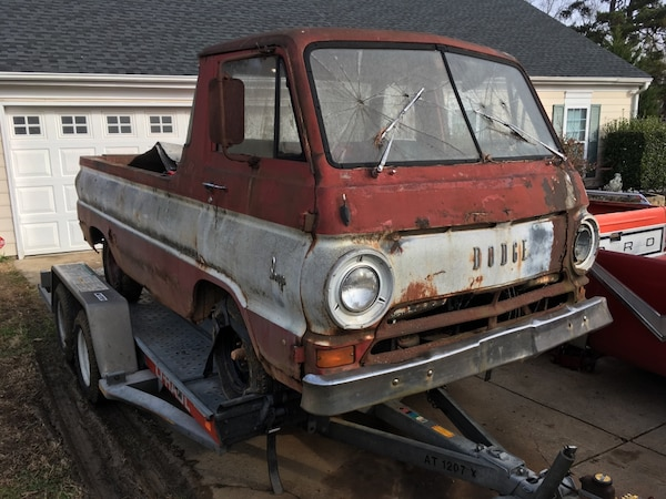 Dodge A100 For Sale >> 1965 Dodge A100 5 Window Pickup