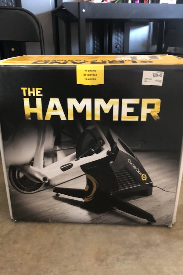The Hammer cycle trainer indoors d0a01bd9-71bf-494a-916e-f6297f475989