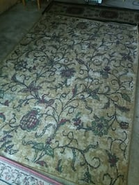 Area Rug with Floral Designs. San Jose, 95117