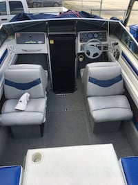 Beautiful four winns freedom 195 with new stereo , leg, prop, seats etc ,comes with water skis , tube life jackets more  Surrey, V3R 5J4