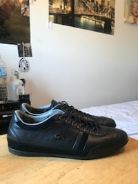 pair of black low-top sneakers ETOBICOKE