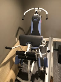 black and white exercise equipment Kearneysville, 25430