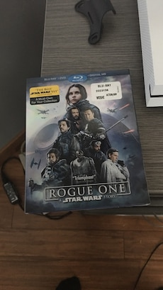 Rogue One Blu-ray case