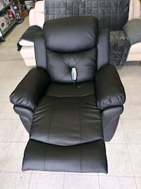 New  massage and recliner leather chair. Lennox, 90304