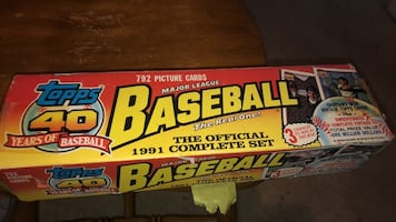 The official 1991 complete set