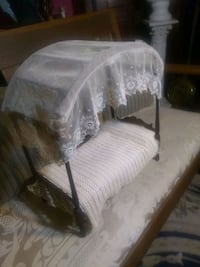 Antique Doll size Canopy Bed Salem, 24153