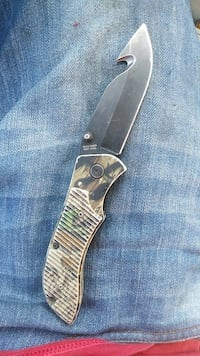 brown handled knife with sheath Edmonton, T6J 4R6