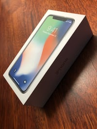 Iphone X Silver 256GB selges!! Fremstår som NY Trondheim, 7043