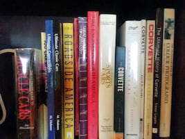 corvette and muscle car books