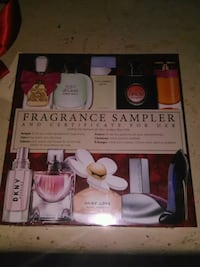 Perfume and cologne sample set 3127 km