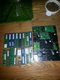 20 GB of memory sticks, 25th Intel chips (1 2.0, 1 3.2 )and 5 HD  Calgary, T2E 0M2