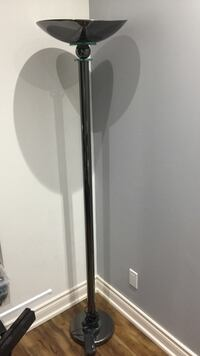 Quality Black steel / glass framed lamp with dimmer Toronto, M5V 4A2