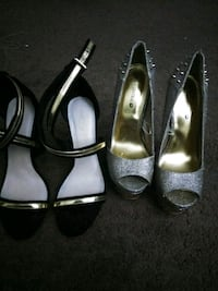 Body central and Charlotte Russe heels  Akron, 44314
