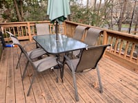 Patio furniture with umbrella and stand Bethesda, 20817