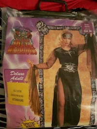 Skull Warrior ladies Halloween costume. London, N5Z 4Z1