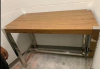 Counter height Dining Table - Walnut finish 43 km